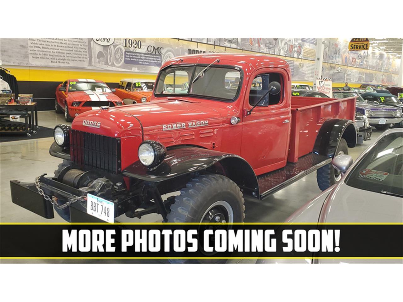 1948 Dodge Power Wagon (CC-1412707) for sale in Mankato, Minnesota
