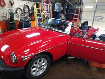 1977 MG MGB (CC-1412730) for sale in Cadillac, Michigan