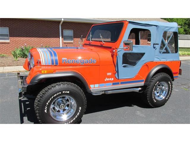 1979 Jeep Wrangler (CC-1412763) for sale in Greensboro, North Carolina