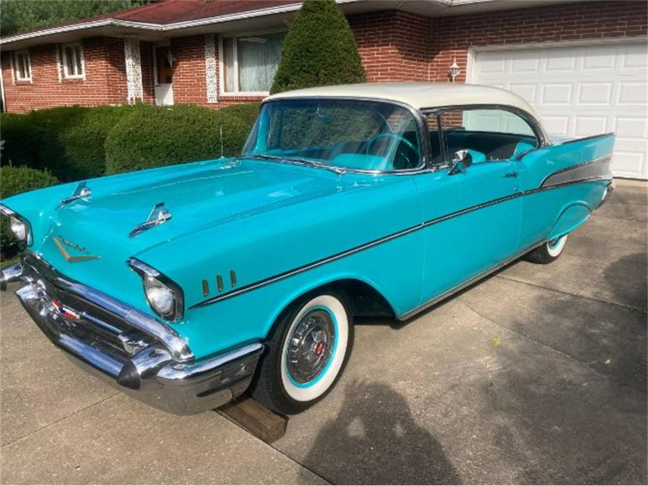 1957 Chevrolet Bel Air (CC-1412793) for sale in Cadillac, Michigan