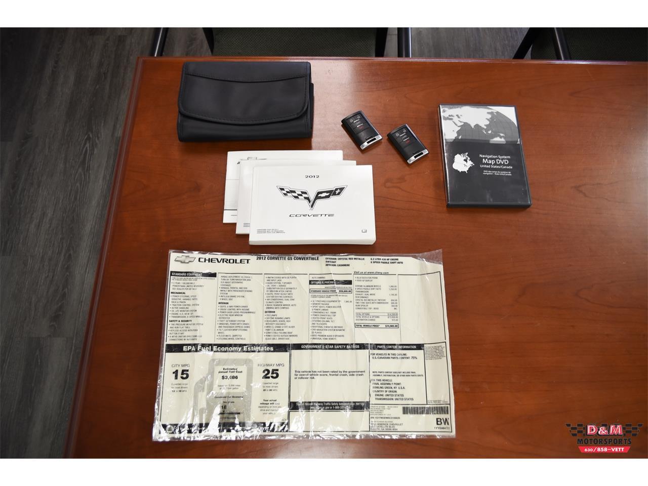 2012 Chevrolet Corvette (CC-1412889) for sale in Glen Ellyn, Illinois