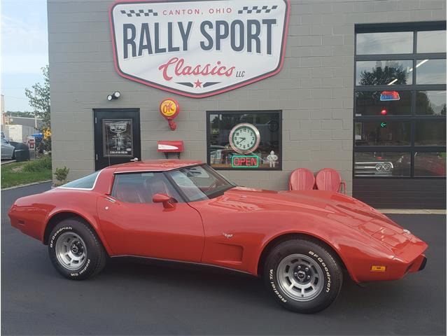 1978 Chevrolet Corvette L82 (CC-1412952) for sale in Canton, Ohio