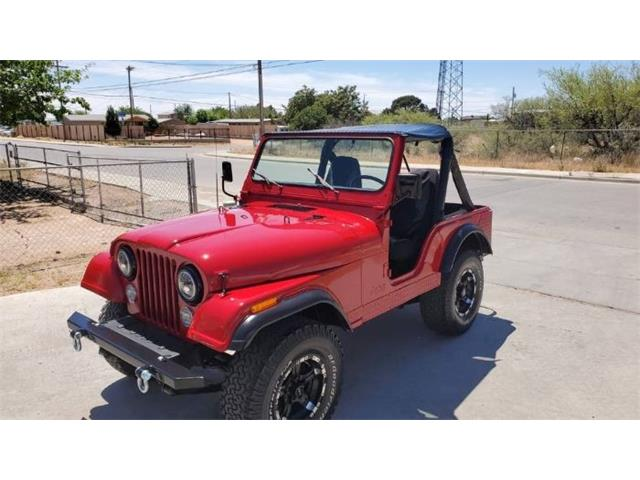 1981 Jeep CJ5 (CC-1413061) for sale in Cadillac, Michigan