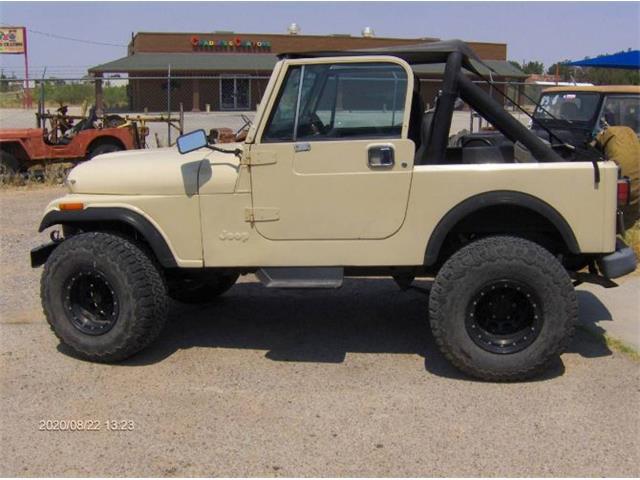1986 Jeep CJ7 (CC-1413080) for sale in Cadillac, Michigan