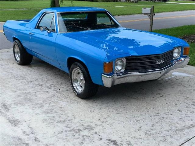 1972 Chevrolet El Camino (CC-1413109) for sale in Cadillac, Michigan