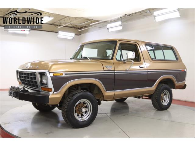 1979 Ford Bronco (CC-1413421) for sale in Denver , Colorado