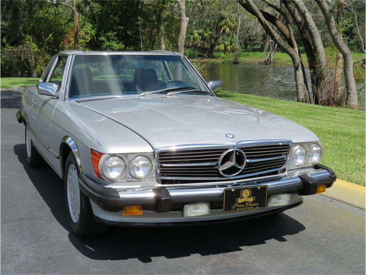 1989 Mercedes-Benz 560SL (CC-1413466) for sale in Lakeland, Florida