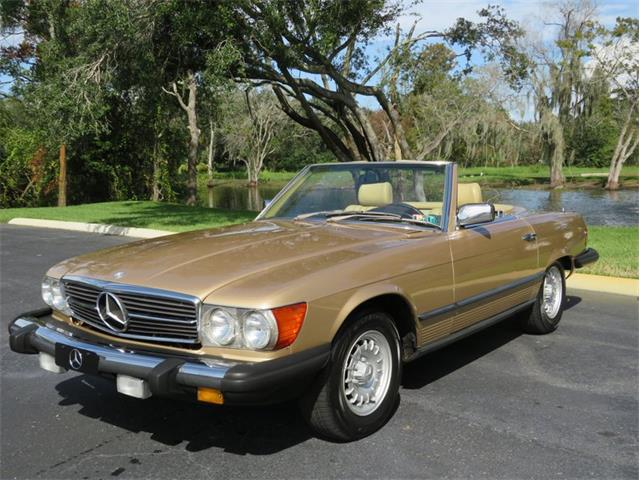 1983 Mercedes-Benz 380SL (CC-1413467) for sale in Lakeland, Florida