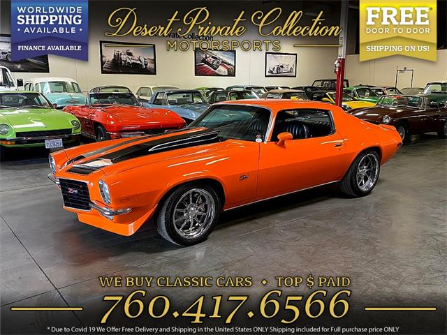 1973 Chevrolet Camaro Z28 (CC-1413499) for sale in Palm Desert , California