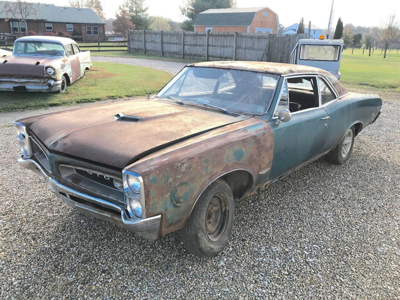 1966 Pontiac GTO (CC-1413502) for sale in Knightstown, Indiana
