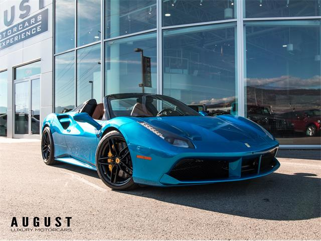 2017 Ferrari 488 (CC-1413687) for sale in Kelowna, British Columbia