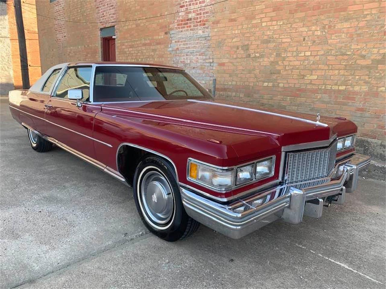 1975 Cadillac Coupe DeVille (CC-1413794) for sale in Denison, Texas