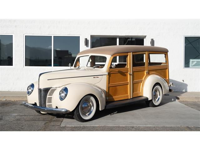1940 Ford Woody Wagon (CC-1413834) for sale in Salt Lake City, Utah