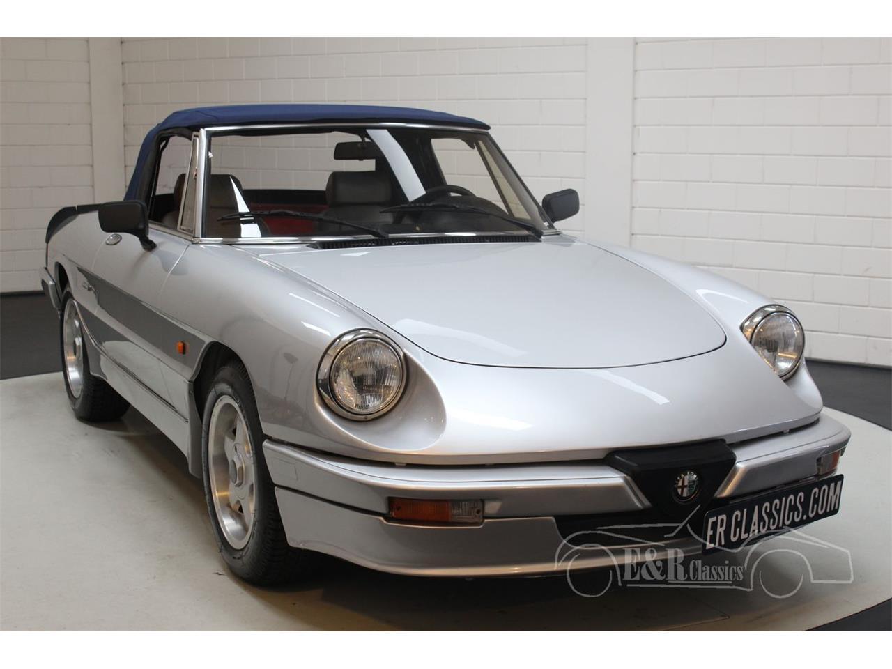 1986 Alfa Romeo Spider (CC-1413870) for sale in Waalwijk, Noord-Brabant
