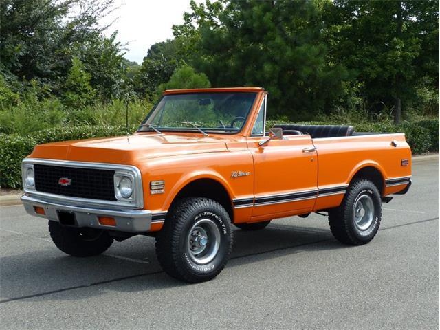1972 Chevrolet Blazer (CC-1413890) for sale in Greensboro, North Carolina