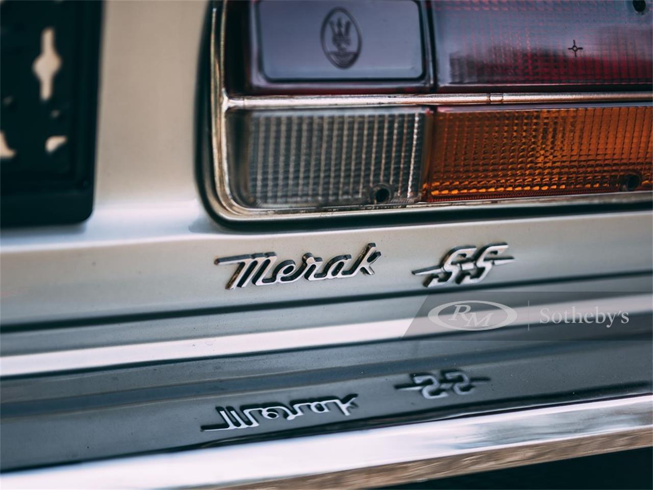1979 Maserati Merak SS (CC-1413899) for sale in London, United Kingdom