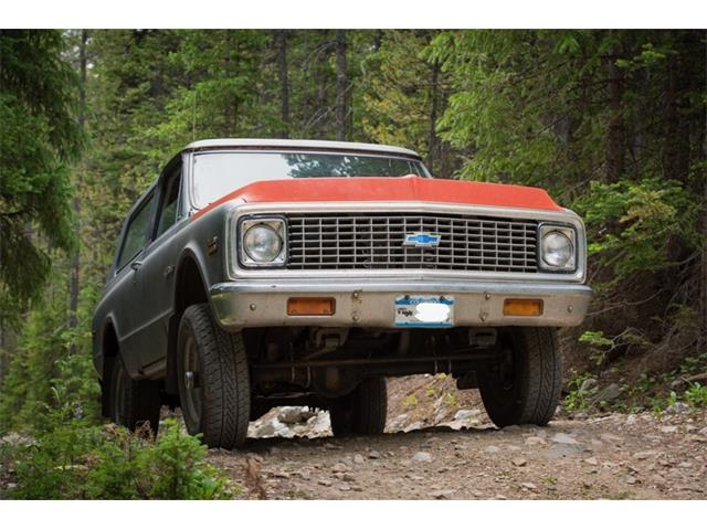 1972 Chevrolet Blazer (CC-1413923) for sale in Fort Collins, Colorado