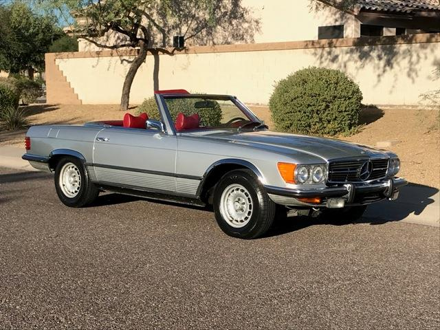 1972 Mercedes-Benz 350SL (CC-1414054) for sale in Palm Springs, California