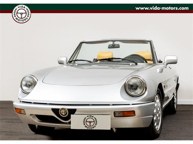1990 Alfa Romeo Spider (CC-1414125) for sale in portici, italia