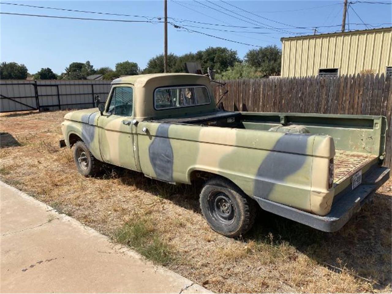 1966 Ford F100 (CC-1414164) for sale in Cadillac, Michigan