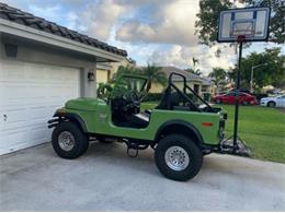 1977 Jeep CJ (CC-1414189) for sale in Cadillac, Michigan