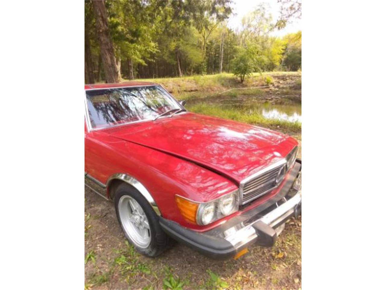 1977 Mercedes-Benz 450SL (CC-1414249) for sale in Cadillac, Michigan