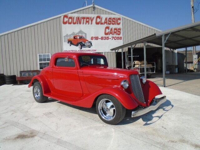 1934 Ford 3-Window Coupe (CC-1414329) for sale in Staunton, Illinois