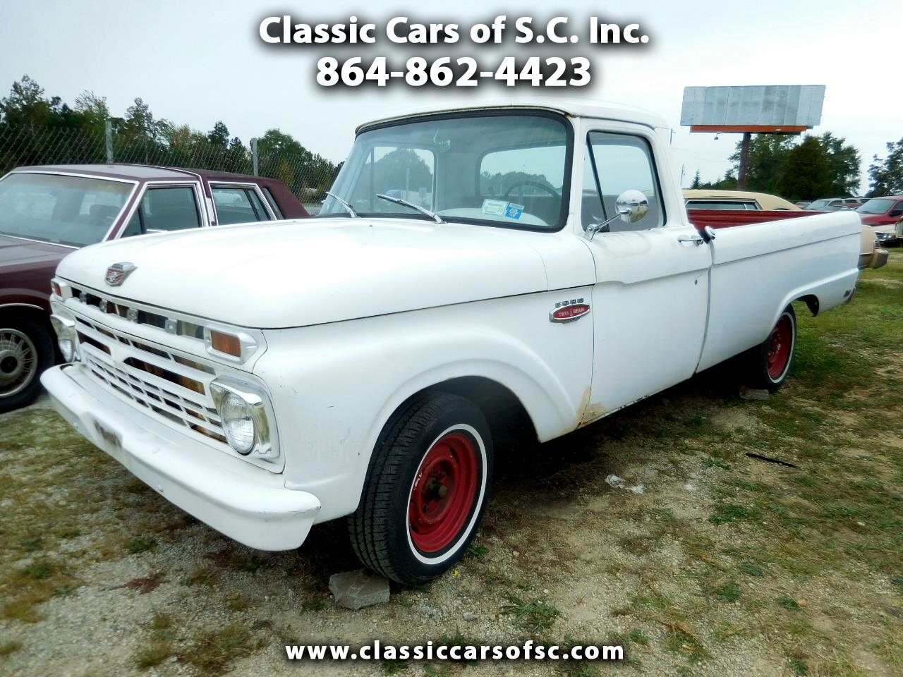 1966 Ford F100 (CC-1414414) for sale in Gray Court, South Carolina
