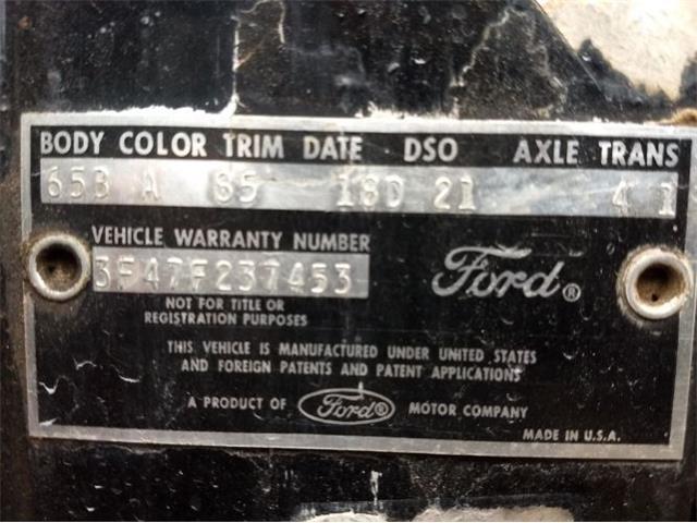 1963 Ford Fairlane 500 (CC-1410451) for sale in Cadillac, Michigan