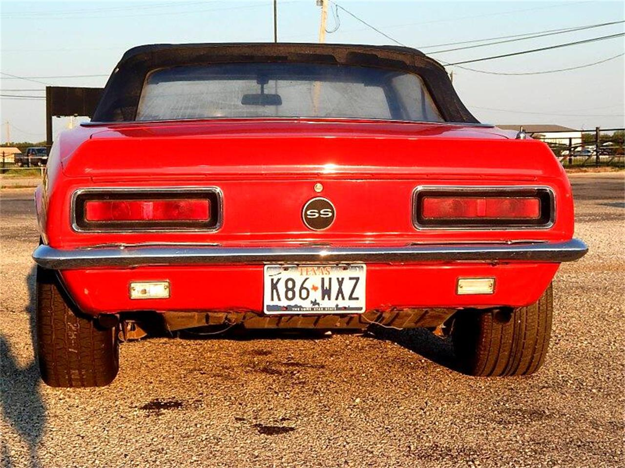 1967 Chevrolet Camaro (CC-1414530) for sale in Wichita Falls, Texas