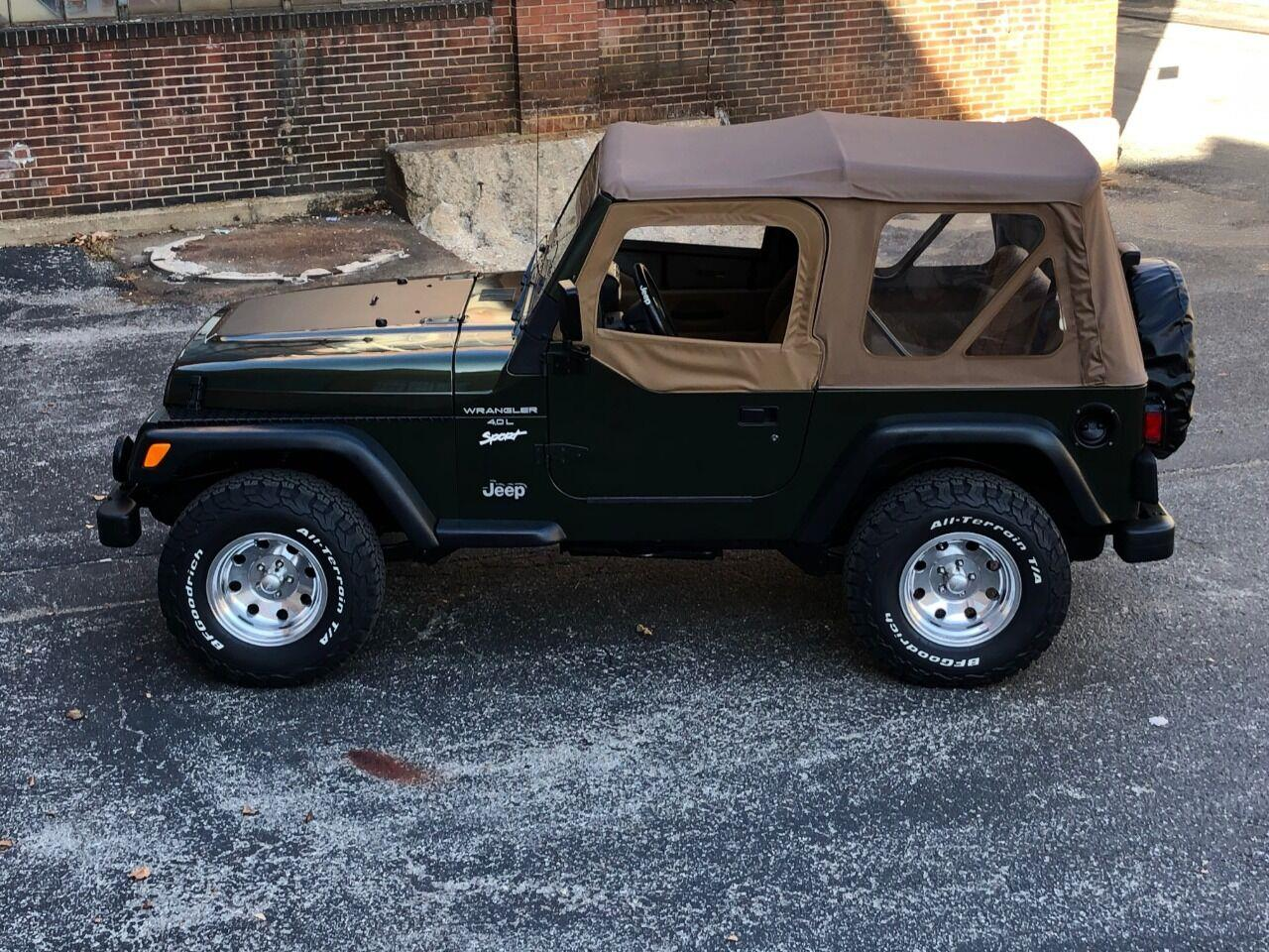 1998 Jeep Wrangler (CC-1414617) for sale in Saint Charles, Missouri