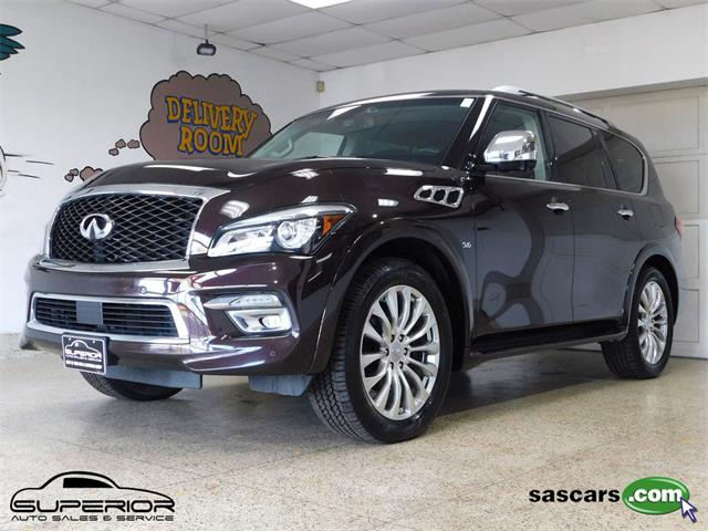 2015 Infiniti QX80 (CC-1414835) for sale in Hamburg, New York