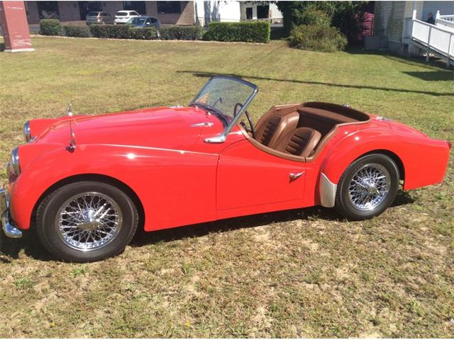 1958 Triumph TR3 (CC-1414852) for sale in Greensboro, North Carolina