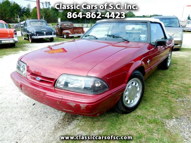 1993 Ford Mustang (CC-1414880) for sale in Gray Court, South Carolina