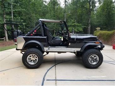1982 Jeep CJ7 (CC-1410493) for sale in Cadillac, Michigan
