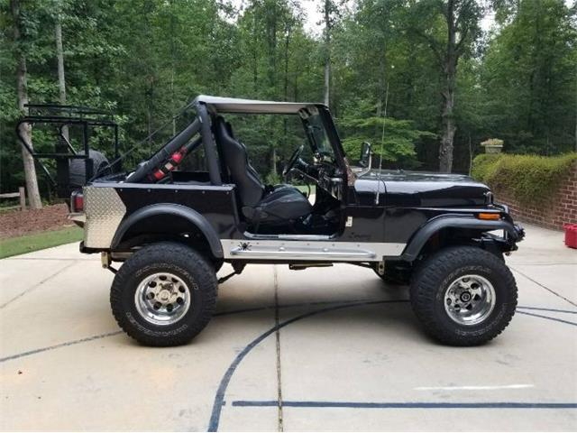 1982 Jeep CJ7 (CC-1410493) for sale in Cadillac, Michigan