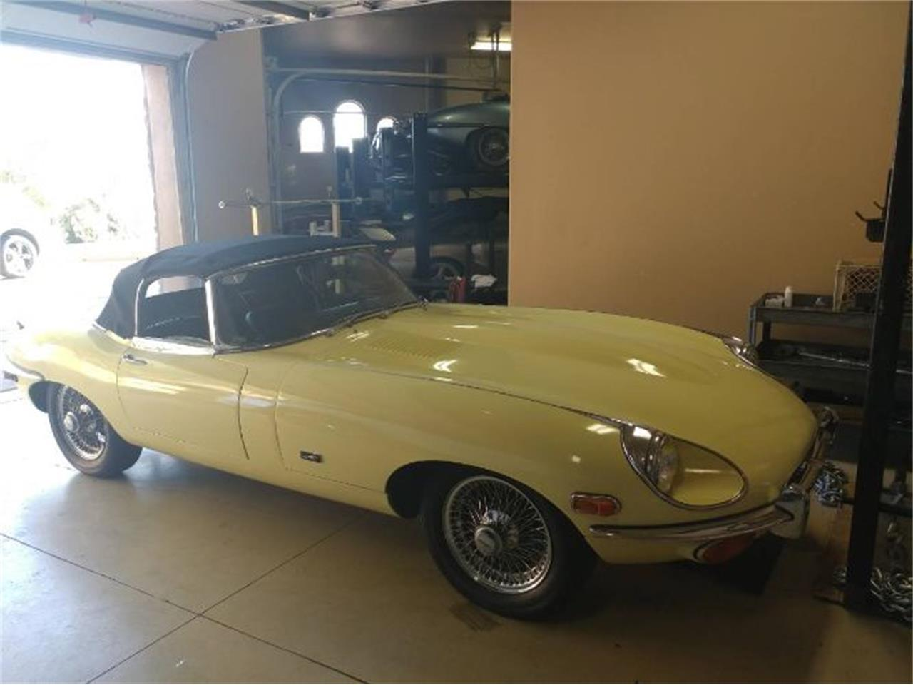 1971 Jaguar XKE (CC-1415078) for sale in Cadillac, Michigan