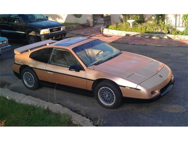 1986 Pontiac Fiero (CC-1415081) for sale in Cadillac, Michigan