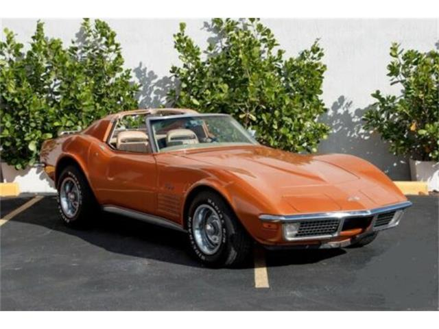 1971 Chevrolet Corvette (CC-1415088) for sale in Cadillac, Michigan