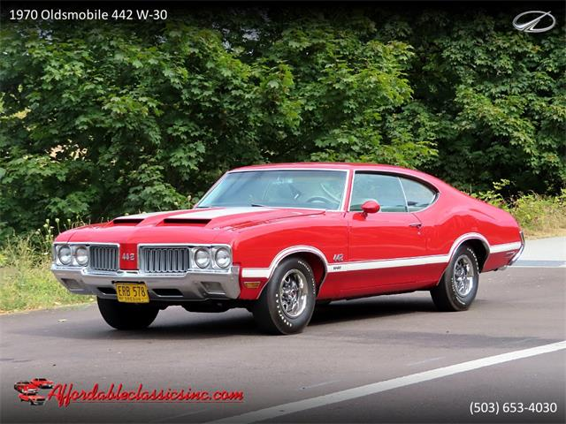 1970 Oldsmobile 442 W-30 (CC-1415152) for sale in Gladstone, Oregon