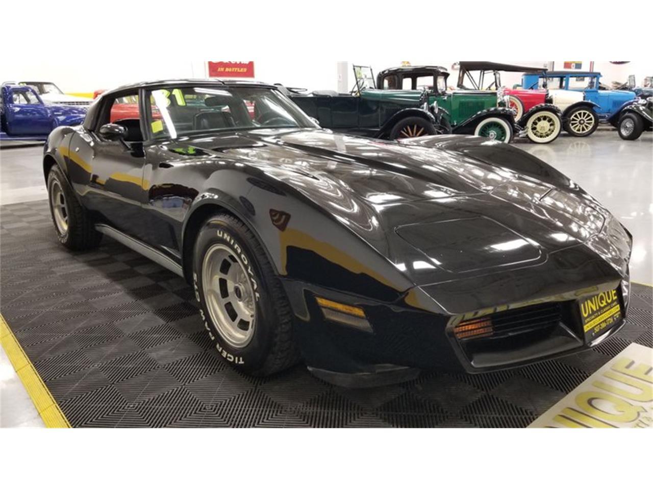 1981 Chevrolet Corvette (CC-1415278) for sale in Mankato, Minnesota