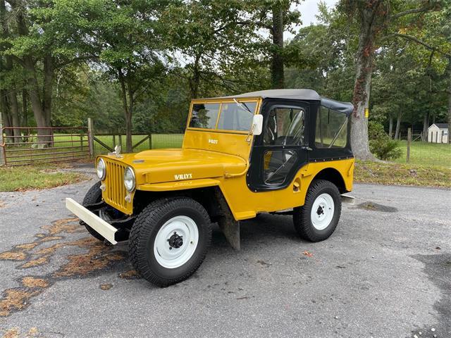 1948 Jeep CJ (CC-1415372) for sale in billings, Montana