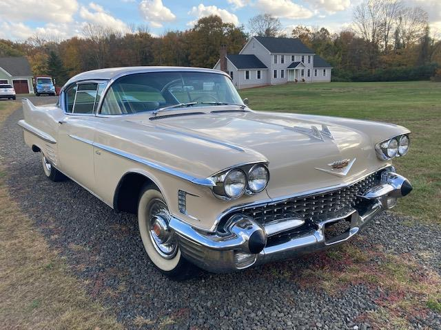 1958 Cadillac Coupe DeVille (CC-1415391) for sale in Easton, Connecticut
