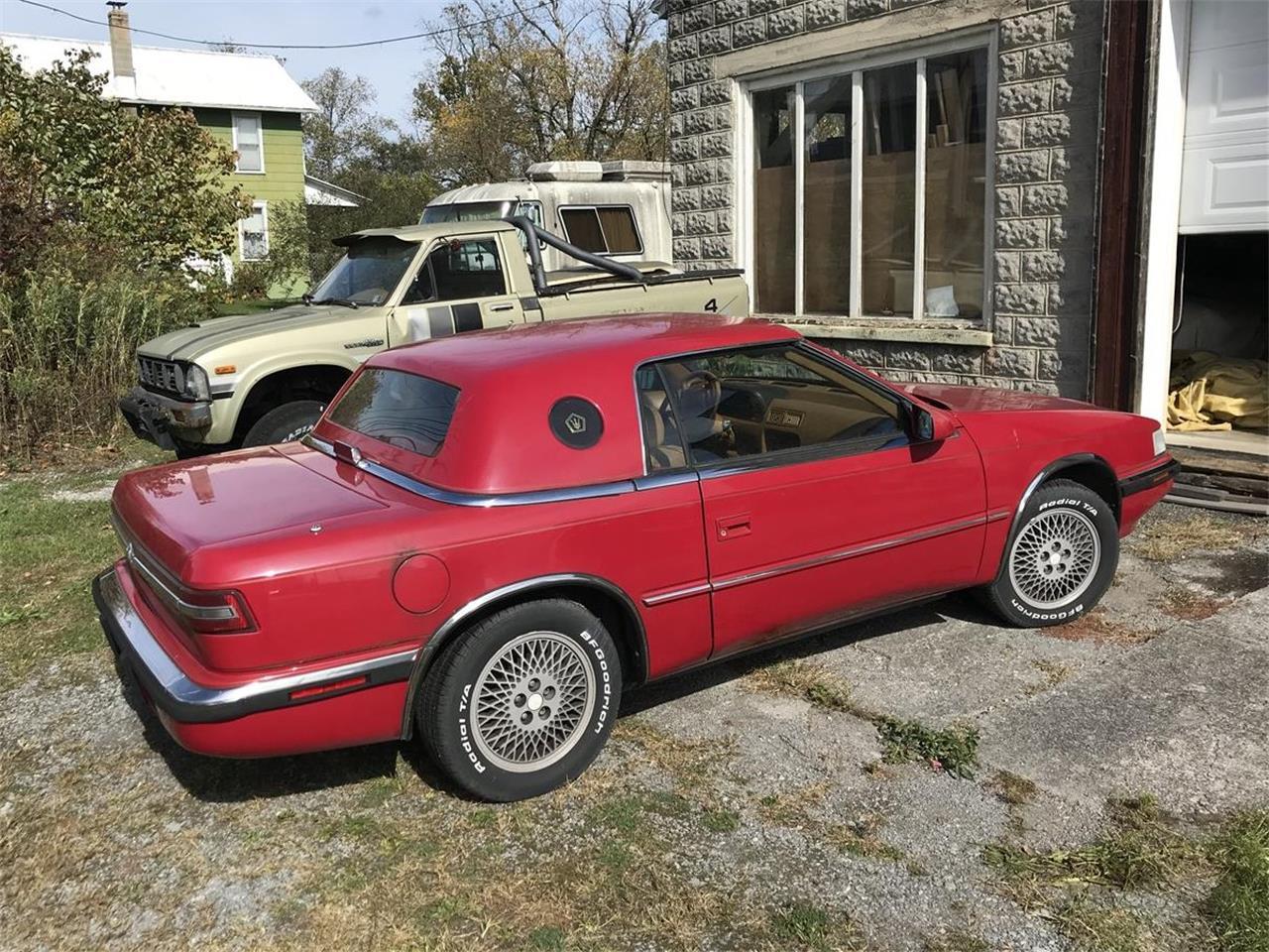 1991 Chrysler TC by Maserati (CC-1415430) for sale in Alexandria , Pennsylvania