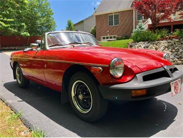 1977 MG MGB (CC-1410546) for sale in Cadillac, Michigan