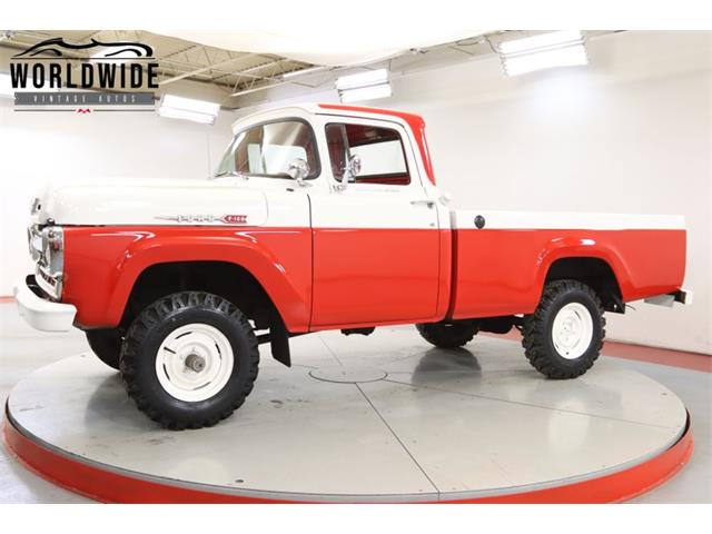 1960 Ford F100 (CC-1415478) for sale in Denver , Colorado