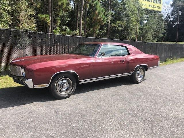 1970 Chevrolet Monte Carlo (CC-1415497) for sale in Greensboro, North Carolina