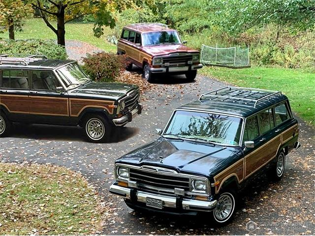 1989 Jeep Grand Wagoneer (CC-1415675) for sale in Bemus Point, New York