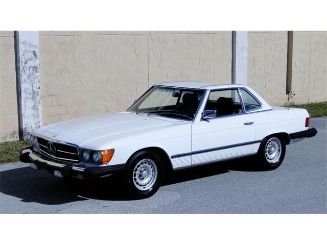 1984 Mercedes-Benz SL380 (CC-1415750) for sale in Greensboro, North Carolina