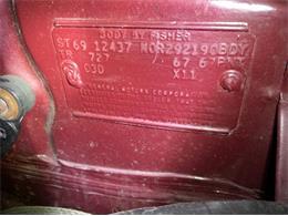 1969 Chevrolet Camaro (CC-1415821) for sale in Cadillac, Michigan